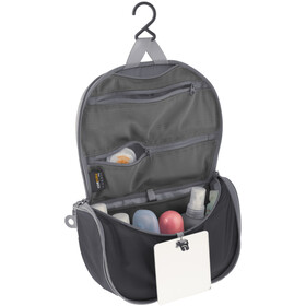 Sea to Summit Hanging Trousse de toilette Petit, black/grey